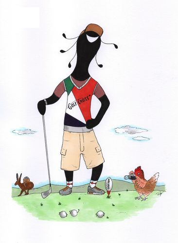 The GolfCross Player